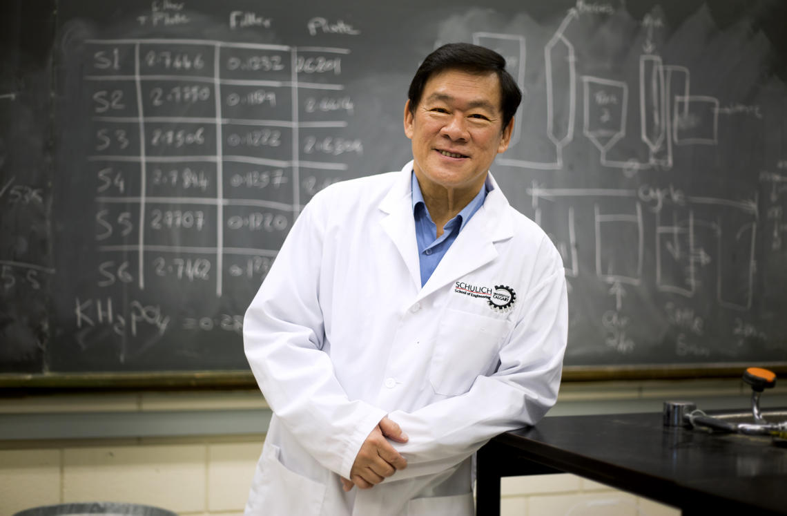 Dr. Joo-Hwa (Andrew) Tay, PhD, was honoured with the ASTech Award posthumously for his lifetime's work to develop ways to clean pollutants from water supplies. Dr. Tay passed away in 2019.
