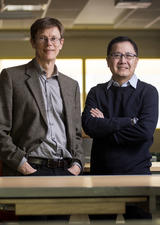 Dr. Robert Brennan and Dr. Simon Li